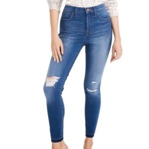 """MADEWELL 10"""" High Rise Skinny Jeans! Size 32."""